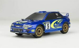 Carisma - GT24 1/24 Scale Micro 4WD Brushless RTR, Subaru WRC