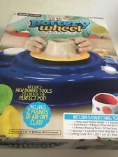 POTTERY WHEEL Maker for Kids Motorized Educational Toy Made By Me / BRAND NEW!