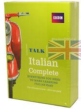 BBC Learn Talk Italian Complete - 4 CD-Audio, 2 Course Books Plus Grammar Guide