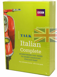 BBC Learn Talk Italian Complete - 4 CD-Audio, 2 Course Books Plus Grammar Guide