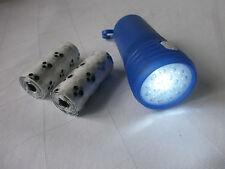 2 in 1 Beutelspender für Hundekot inklusive LED Licht