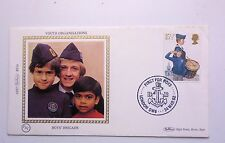 GREAT BRITAIN FDC YOUTH ORGANISATIONS BOYS BRIGADE BENHAM COVER