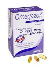 HEALTHAID OMEGAZON HIGH POTENCY 60 CAP - 100% NATURAL - FREE UK SHIPPING