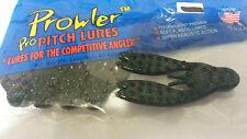 Prowler Pro Pitch Lures Pro Craw Chunk 5pk Emerald Black