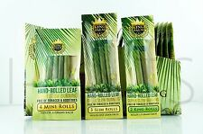 9x King Palm Rolls 100% Tobacco Fee All Natural Leaf Rolls With Corn Husk Filter