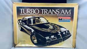 1980 MONOGRAM TURBO PONTIAC TRANS AM MODEL KIT 1/8 SCALE