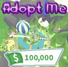 Roblox Adopt Me £100,000 Bucks