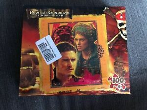 NEW PIRATES OF THE CARIBBEAN AT WORLD'S END 100 PIECE PUZZLE MAGA BRAND