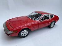 Ferrari 365 GTB/4 Daytona diecast model road car Red 1969 1:18th Kyosho 8161R