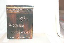 M. Night Shyamalan Collection (, 3 Discs, Region Free) Signs; The Sixth Sense +