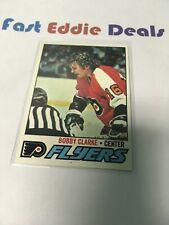 TOPPS HOCKEY 1977-78 BOBBY CLARKE CARD # 115 PHILADELPHIA FLYERS NR-MT