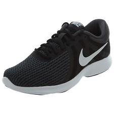 NIKE Women's Revolution 4 Running Shoe Black/White-Anthracite 6.5 (2E) Wide NEW