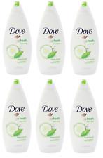 Dove Body Wash Purely Pampering Cucumber&Green Tea Shower Gel 500Ml PACK 6 WA525