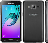 Brand New SAMSUNG Galaxy J3 SM-J320FN 8GB *2016*Black UNLOCK  4G LTE SMARTPHONE