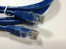 2X ADC Krone RJ45 2m blue patch Cat5e lead cable brand new