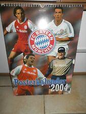 FC Bayern München  Kalender 2004 original, ohne Folie wie NEU - Rarität