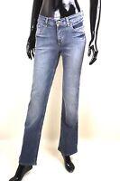 X2-90 Jeans E 905 2038 W33 L30 blau Stretch slim fit straight mid rise NEU