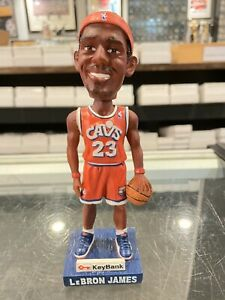 11/9 2006 KEYBANK LEBRON JAMES CLEVELAND CAVALIERS GIVE AWAY BOBBLE HEAD DOLL JP