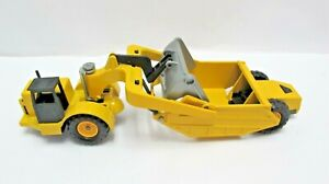 Majorette 1/50 Construction Scraper Leveller - Not Boxed - (3259)