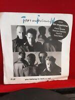 "Tin Machine – You Belong In Rock N' Roll Vinyl 7"" P/S Single London LON 305"