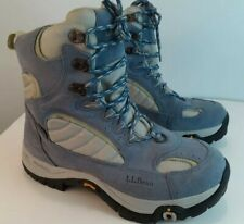 L.L. Bean Blue Tek 2.5 Waterproof TSL System Snow Shoe Bindings Boot Women's sz8