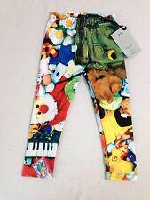 Zara Terez Kids Toyz Capri Leggings Little Girls' Size S NWT!
