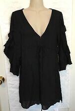 Black Lightweight Dress Cotton Candy Brand Women's Medium NWT