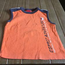 Esprit Jungen-T-Shirts, - Polos & -Hemden aus 100% Baumwolle im Tank Top-Stil