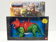 Masters of The Universe Origins Battle Cat MOTU He Man Classics Retro Cringer