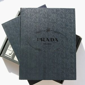 2009 XL Prada luxury fashion book 80s 90s 00s 1st ed. hardback book slipcase