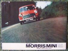 MORRIS MINI MKII CAR SALES BROCHURE SEPTEMBER 1967 REF- 2456/A