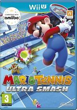 Mario Tennis: Ultra Smash (Nintendo Wii U, 2015) *MINT CONDITION DISC* FREE P&P
