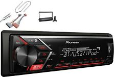 Pioneer MVH-S300BT USB Bluetooth MP3 AUX Set montaje para FORD FIESTA