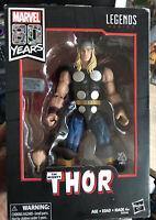 """Marvel Legends 6"""" Comics 80 Years Classic Thor Odinson Thunder God *Damaged Box*"""