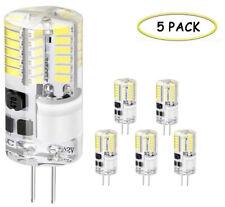 Pack de 5 Ampoule LED G4, Halogène, 300 LM, 30W, AC/DC 12V, 360° Faisceaux