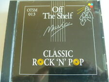 MUSIC OFF THE SHELF CLASSIC ROCK N POP  RARE LIBRARY SOUNDS CD