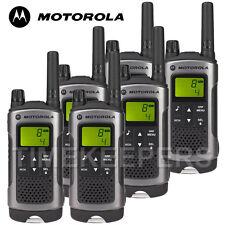 10 Km Motorola TLKR T80 Walkie Talkie Dos Vías PMR 446 Seguridad Ocio Radio Seis