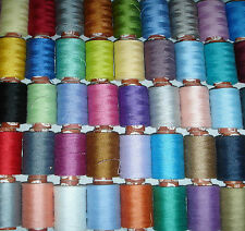 COATS 35 NICE COLOURS OF ALL PURPOSE POLYESTER THREAD