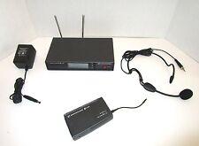 Sennheiser EM100 Receiver & SK500 Wireless Bodypack Microphone System & ME 3 Mic