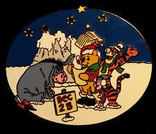 New ListingWalt Disney World Winnie The Pooh Christmas Pin/ Le 5000