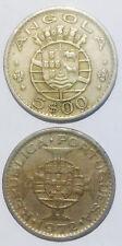 Angola PORTUAL Portuguese Colony 5 escudos 1972 25mm Co-Ni coin