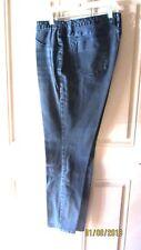 Mossimo Ladies Preminum Denim Black Leggings Size 14