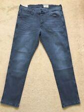"""Wrangler Men's Boyton Regular Tapered Black tones Denim Jeans, W34"""", L30"""", £85"""