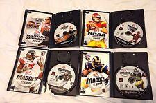 Lot Of 4-NCAA Football 04, MADDEN 03 & 04 & NASCAR 04 (Sony PlayStation 2)