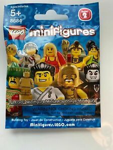 New SEALED Lego Collectible Minifigures Series 2 8684 complete set of 16