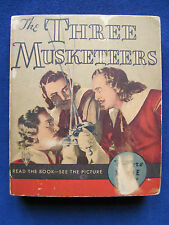 THE THREE MUSKETEERS Movie Tie-In RKO Film wi WALTER ABEL & HEATHER ANGEL