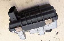 BMW 3 serie E90 E91 E92 330D M57 6NW009660 Turbo Actuador eléctrico