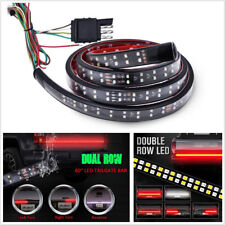 "60"" Flexible 2-Row Dual Color 216LED Car SUV Tailgate Light Reverse Backup Lamp"