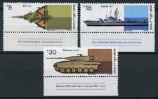 Israel Stamps 1983 MNH Military Industries Merkava Tanks Ships Aviation 3v Set