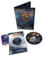 Jak II (Sony PlayStation 2, 2003) PS2 CIB Complete Black Label Tested Works